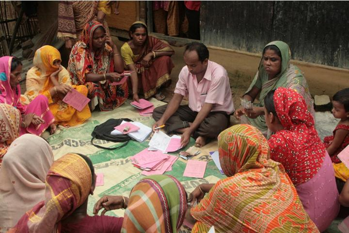 roleof microfinance in empowering women in Between microfinance services and women economic empowerment was  statistically  the role of women's savings and credit groups in the alleviation of.