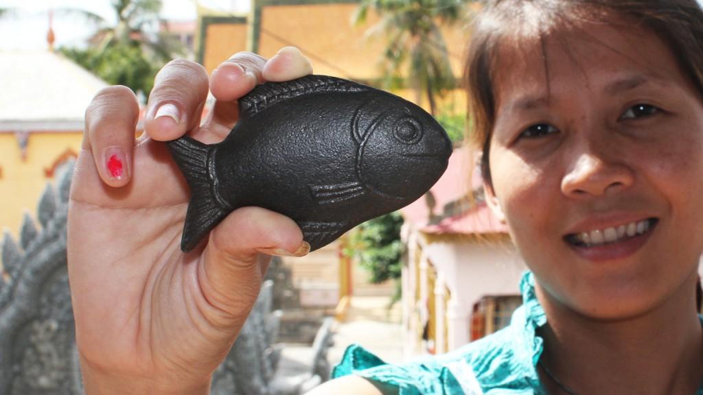 Women's empowerment - lucky iron fish