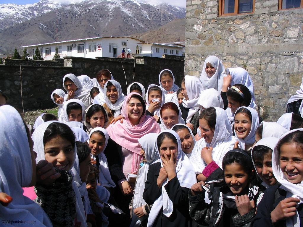 Une école de fille en Afghanistan