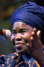 Portrait of Ama Ata Aidoo