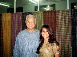 Arun of Women's WorldWide Web with Professor Yunus