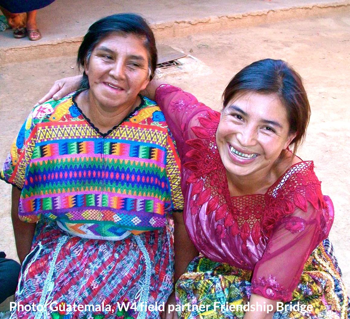 Two rural women in Guatemala