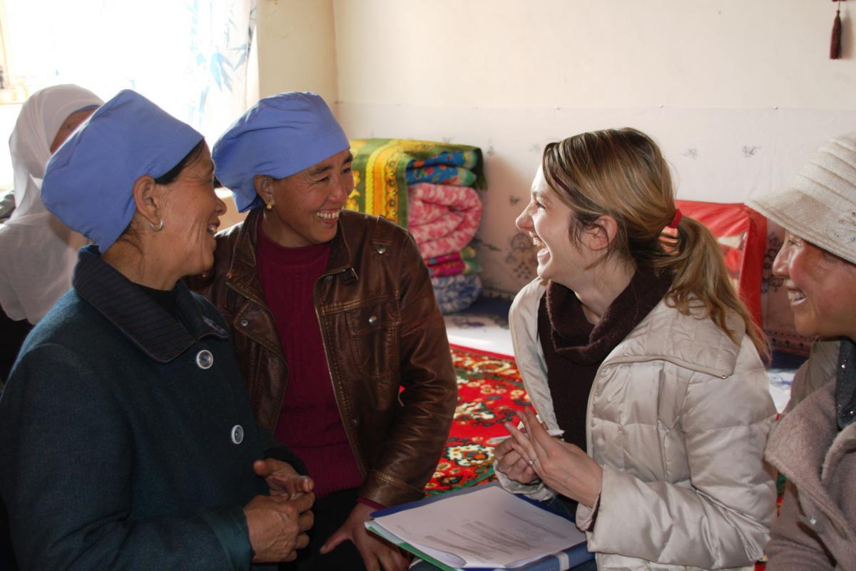 Microfinance expert Kira Dubas