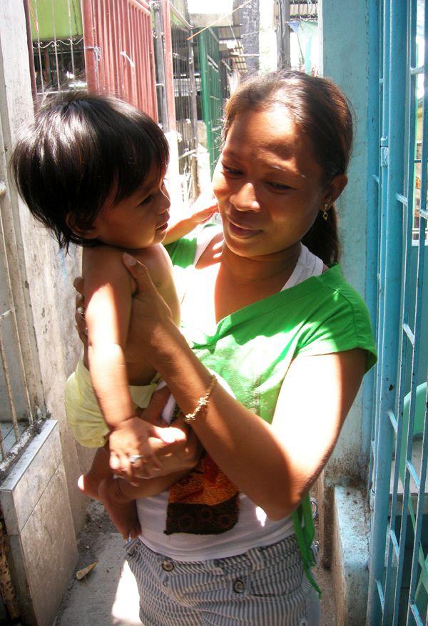 Mother in Carreta slum