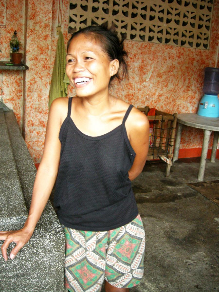 Woman from Carreta slum