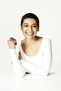 Portrait photo of Zainab Salbi, Founder of Women for Women International