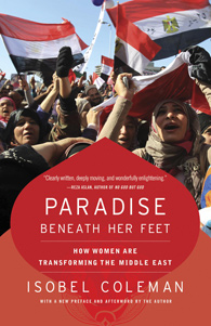 Book cover for Isobel Coleman's Paradise Beneath her Feet