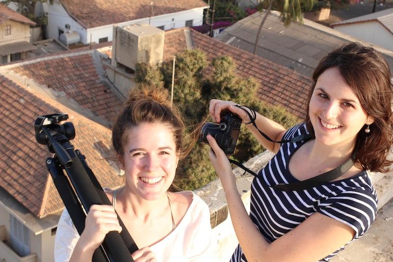 Karine et Adèle documentent le SparkTour