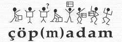 çöp(m)adam logo Turkey social business