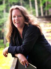 Portrait of poet, Maureen McLane