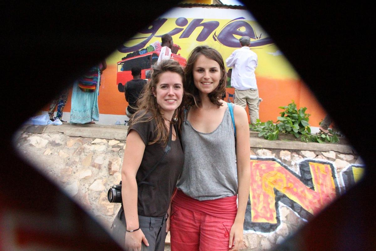 Karine et Adèle à Dakar pour le SparkTour