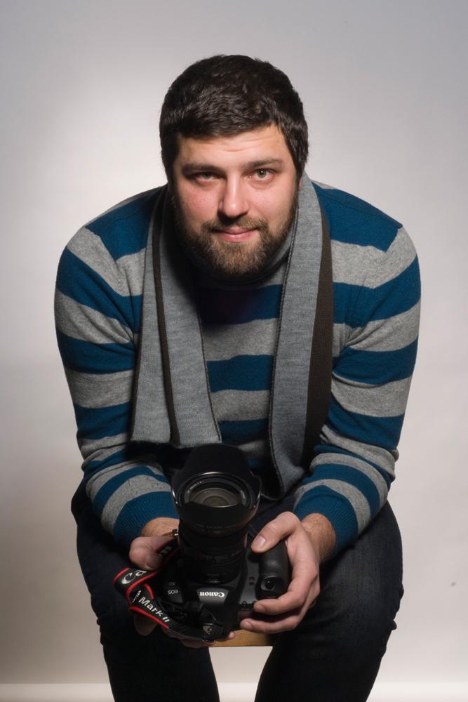 Portrait of Vlad Sokhin