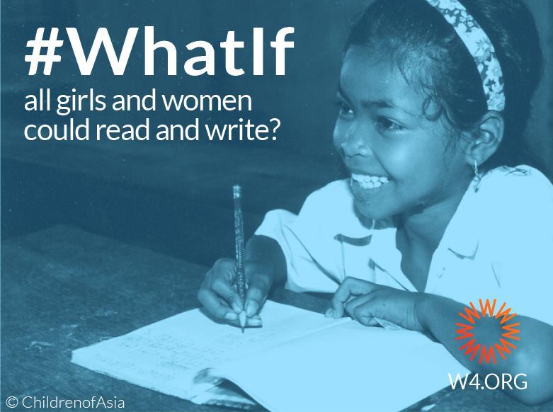 What If Ecard International Literacy Day