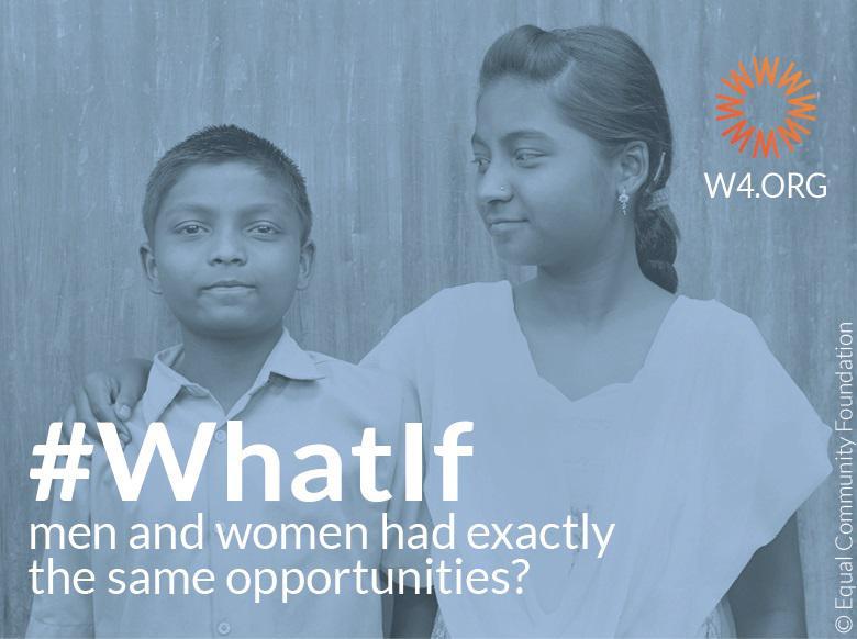 What If Ecard Men Women same opportunities